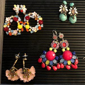 5 Pairs of Fashion Earring